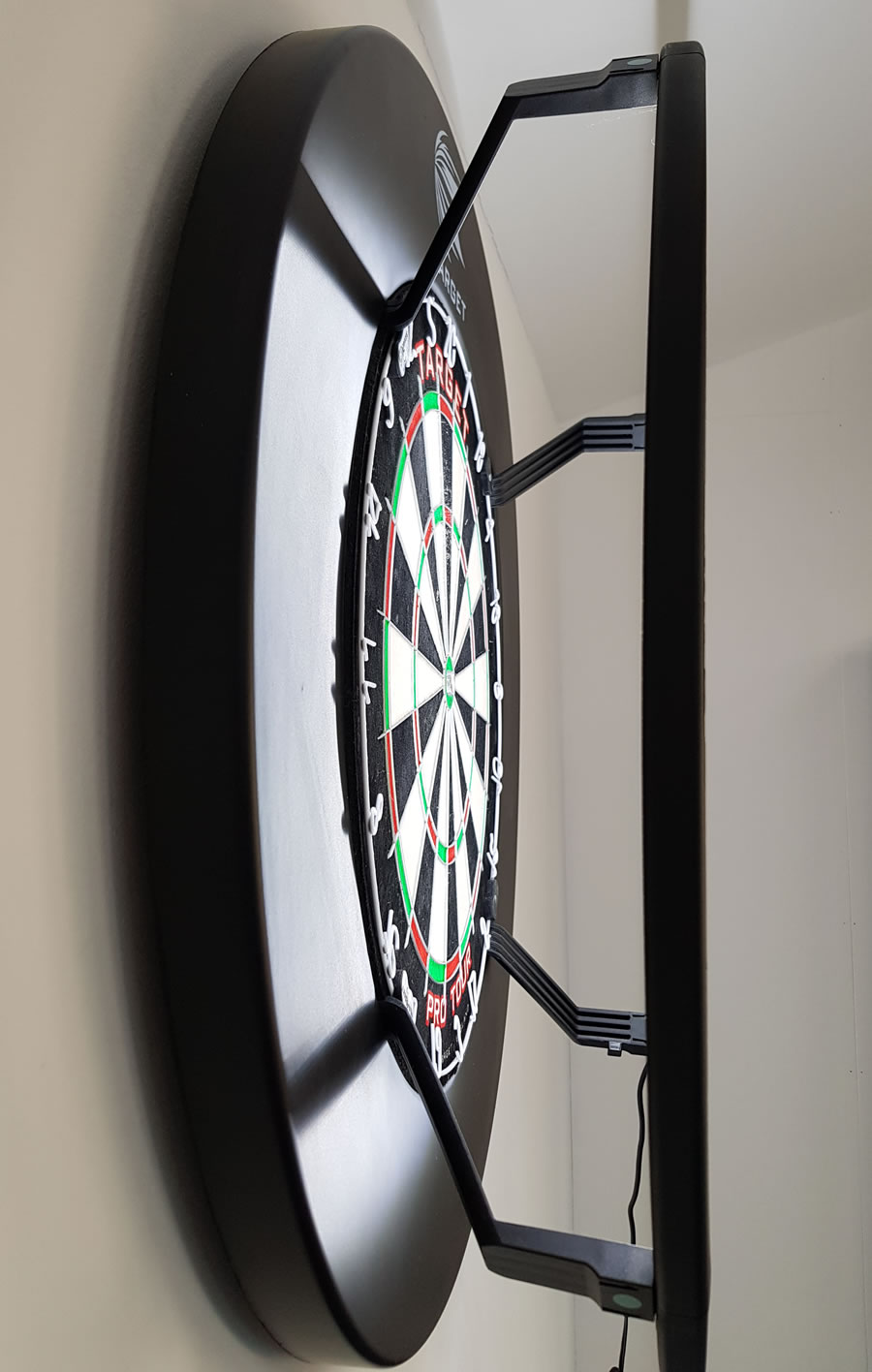 target corona darts light side view