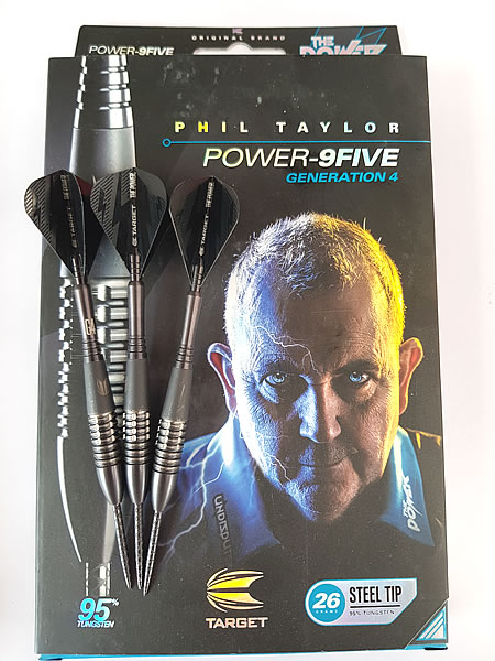 Phil Taylor POWER 9FIVE Gen 4